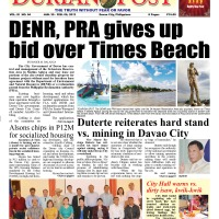 DENR, PRA give up on  bid over Davao City government-owned Times Beach