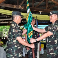 AFP Change of command - Lt. Col. Llewellyn Binasoy takes over 60th Infantry Battalion from Lt. Col. Greg Almerol