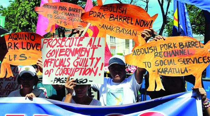 DABAWENYOS hold protest rally versus pork barrel