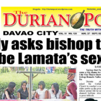 Davao 's Father Lamata a shame to  the Catholic Church