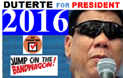DUTERTE FOR PRESIDENT