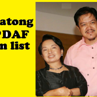 ComVal Rep. Rommel Amatong  in PDAF  scam list