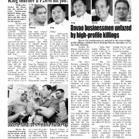 Davao businessmen unfazed by high-profile killings  -  Durian Post No. 149