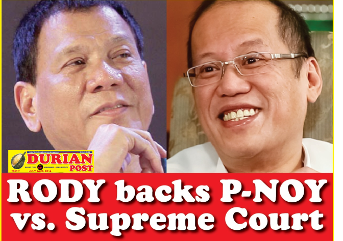 aquino backs pnoy
