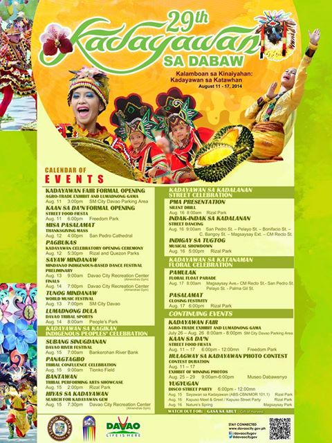kadayawan schedule