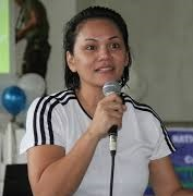 Agusan del Norte Governor Ma. Angelica Rosedell Amante-Matba