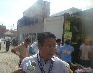 ERNESTO ARADANAS, Davao Port Collector of Customs