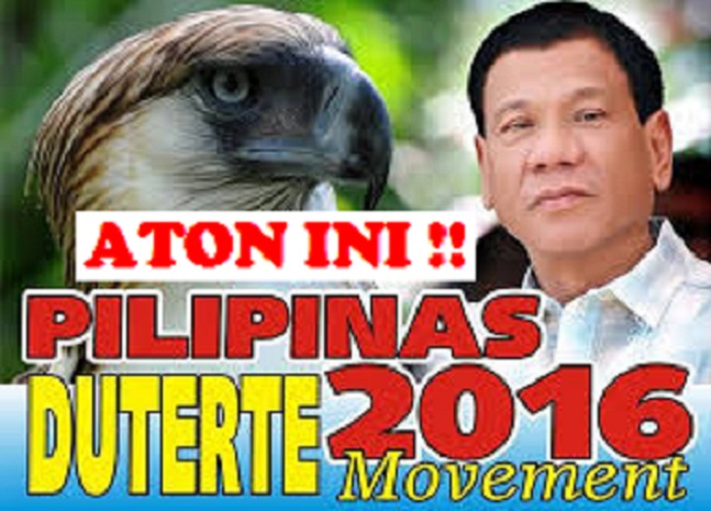 """'DUTERTE FOR PRESIDENT' INVADES ILONGGO COUNTRY WITH """"ATON INI"""" STREAMERS"""