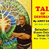 TALES OF DESTRUCTION - 9th Solo Exhibit by Anoy Catague