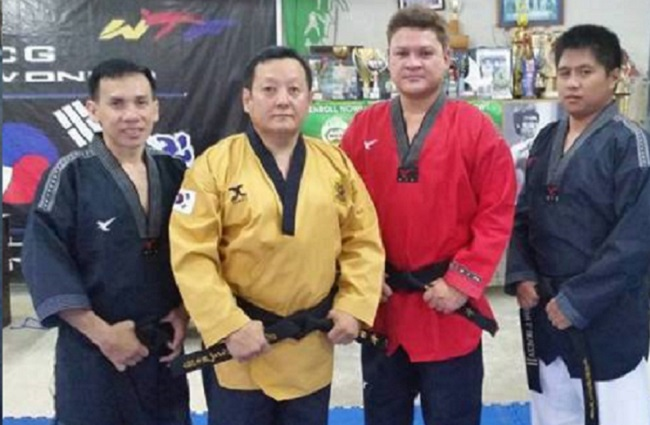 PULONG Duterte merits a new  black belt in Taekwondo