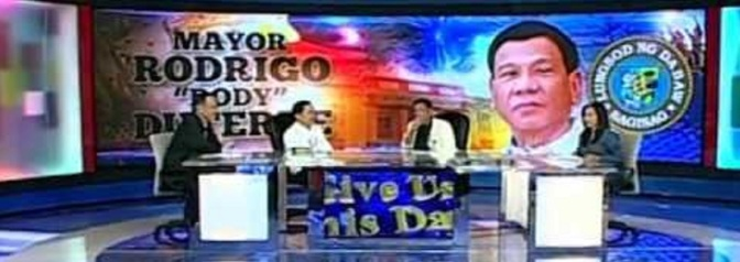 HINTS OF DAGUPAN DECLARATION FIRST AIRED IN QUIBOLOY SHOW