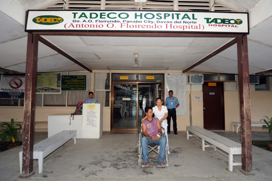4 - TADECO Hospital inside the banana plantationfor their workers and families