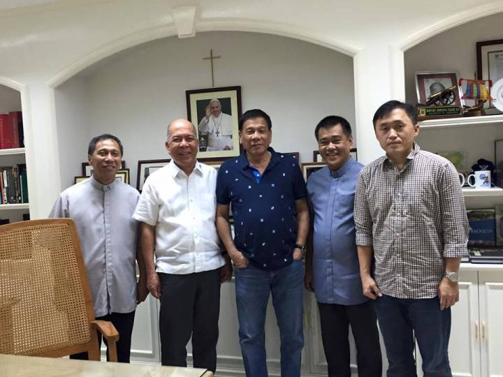 rody with priests