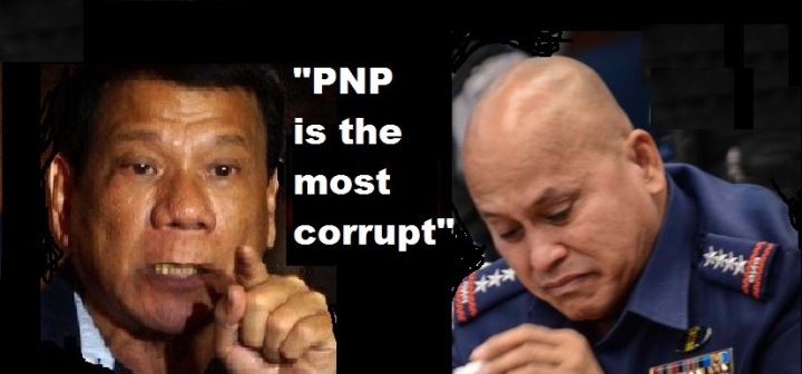 Image result for Duterte, Bato and the police scalawag
