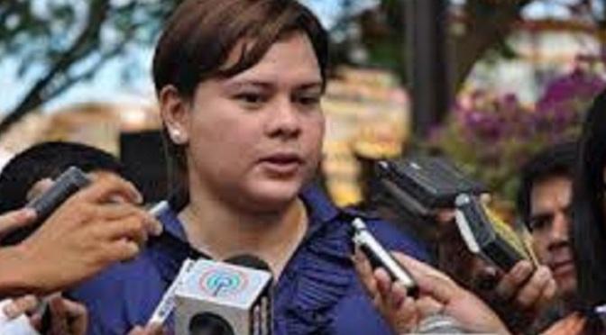 DAVAO CITY IMAGE AFFECTED BY MARTIAL LAW —Sara Duterte-Carpio