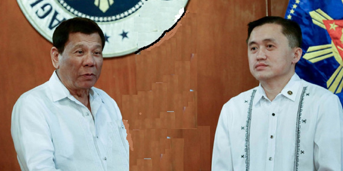 DUTERTE DEFENDS TOP AIDE BONG GO
