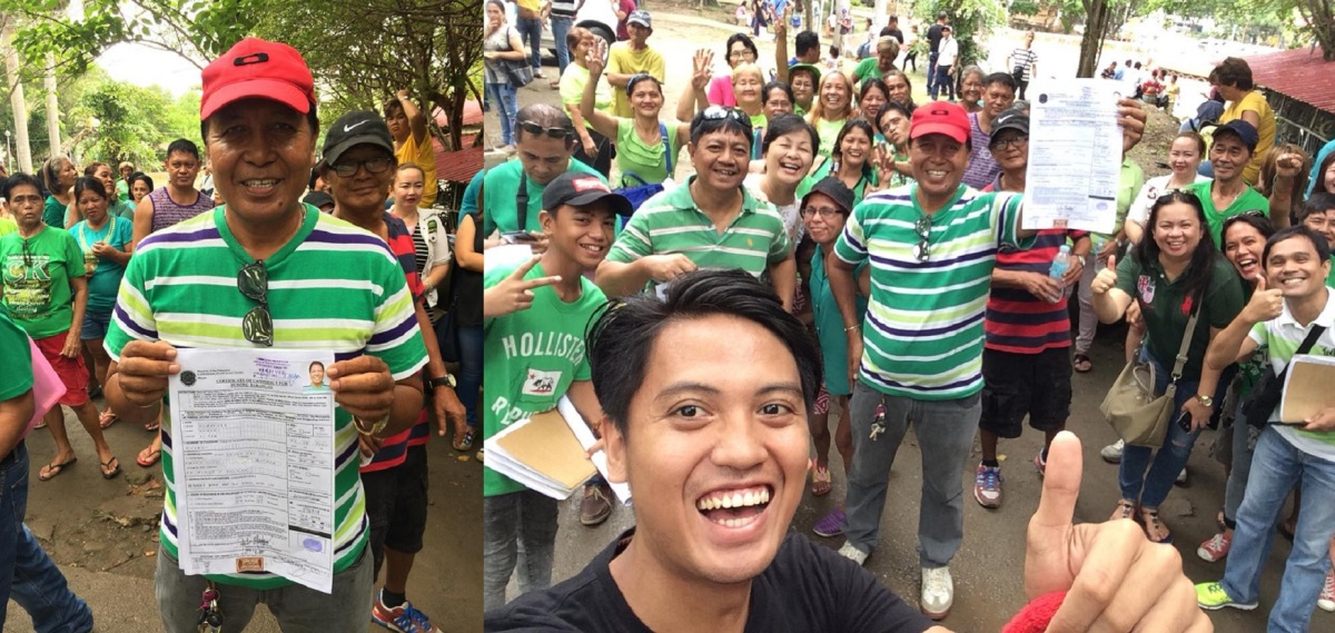 ROBERT OLANOLAN BACK IN RUNNING IN BARANGAY 76-A BRGY. CAPTAIN RACE