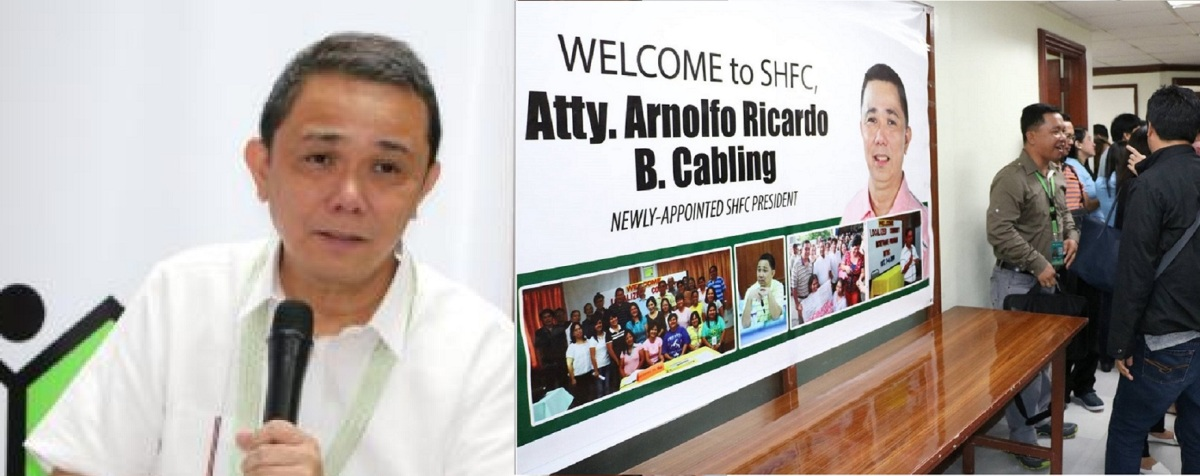 NBI PROBES SHFC PRESIDENT CABLING OVER SOCIAL HOUSING LAND BUYING SCAM