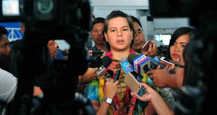 sara duterte media