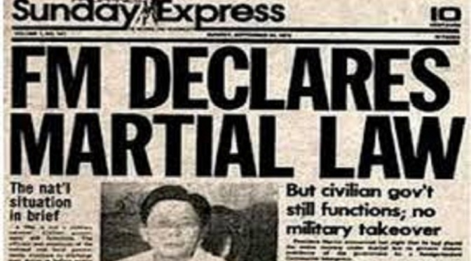 BONGBONG MARCOS, JUAN PONCE ENRILE AND THE ART OF LYING ABOUT THE MARCOS  MARTIAL LAW