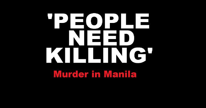 murder in manila