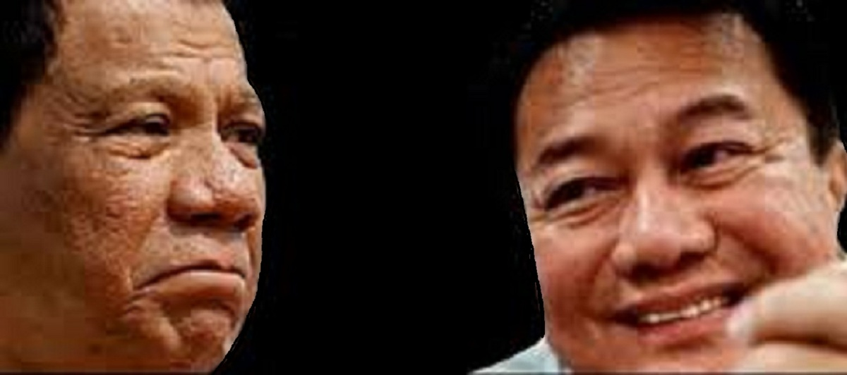 PRESIDENT DUTERTE NOT SUPPORTING ALVAREZ
