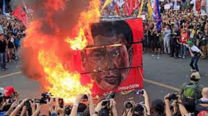 ANTI DUTERTE PROTEST