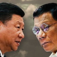 DUTERTE: Xi Jinping claimed Carpio, del Rosario 'gifted' Scarborough Shoal to China