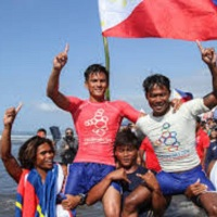 GO COMMENDS PINOY SURFER ROGER CASUGAY FOR HEROISM