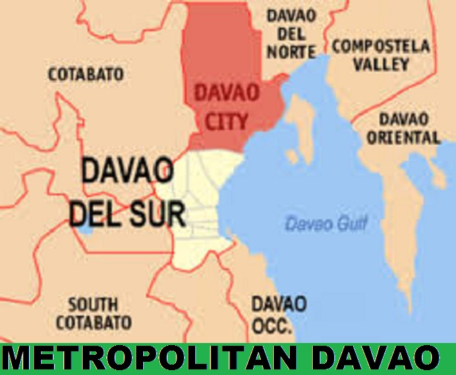 davao region map