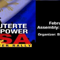 OUST DUTERTE PEOPLE POWER RALLY FEB. 22, 2020 - EDSA