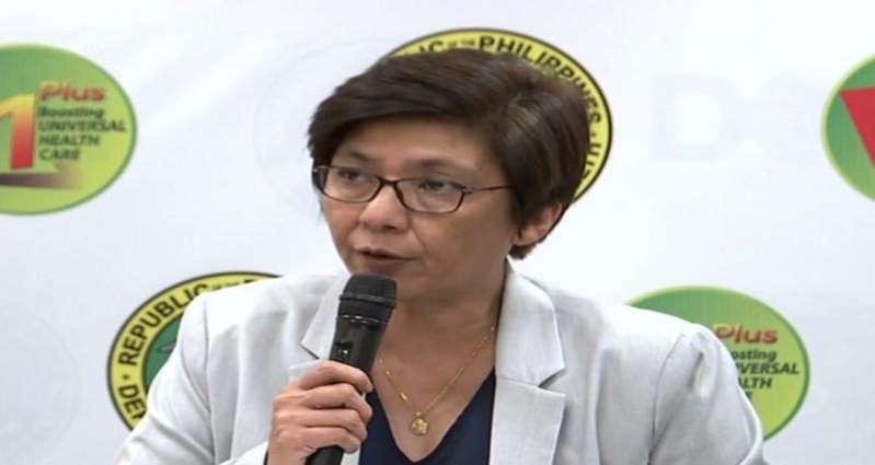 DOH Assistant Secretary Maria Rosario Vergeire