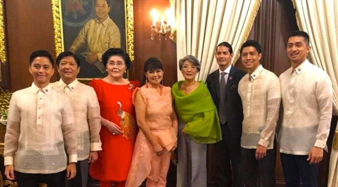 BONGBONG WANTED 'KLEPTOMANIACS' REMOVED FROM MARCOS FAMILY IMAGE