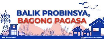 Balik Probinsya, Bagong Pag-asa Program - Home | Facebook