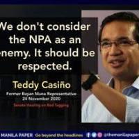 Teddy Casiño- Persona non grata