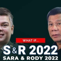 ROQUE SHOOTS DOWN PANELO'S DUTERTE-DUTERTE TANDEM IN 2022 ELECTIONS