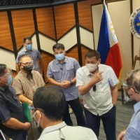 Duterte meets with Ebrahim in Davao City