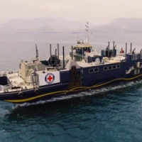 Red Cross' Amazing Grace ship arrives in typhoon-hit Catanduanes