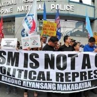 "Karapatan files ""crime against humanity"" raps vs anti-red task force"
