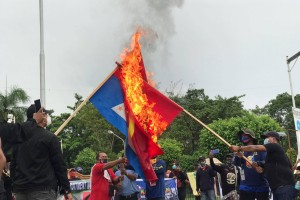 """GENSAN ANTI-COMMUNISTS hold """"show of force"""" rally against CPP/NPA/NDF"""