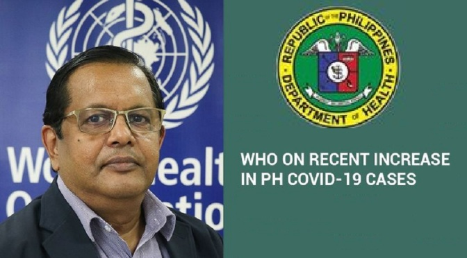 WHO: Philippines is not the only country with rising Covid-19 cases