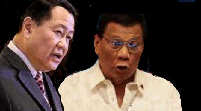 CRITICS: Duterte a coward for cancelling Carpio debate