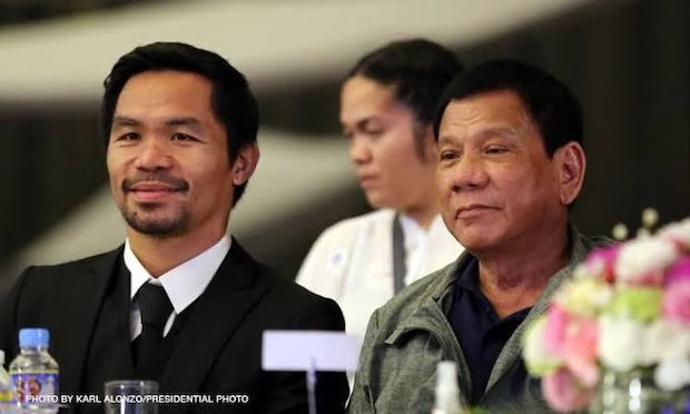 PACQUIAO: I'm not attacking the President