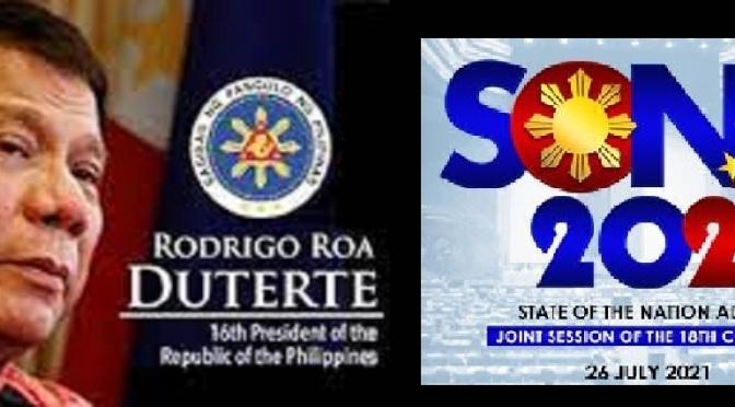 DUTERTE SONA 2021: Terrorism Philippines