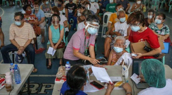 40% of MetroManila  population vaccinated
