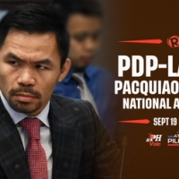 MANNY PACQUIAO IS PDP-LABAN STANDARD BEARER IN 2022 NATIONAL ELECTION