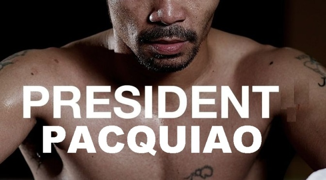 MANNY PACQUIAO: From the ring to Malacanang