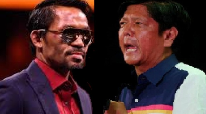 PACQUIAO snaps at Bongbong washing his hands off his dictator father's cruel martial rule