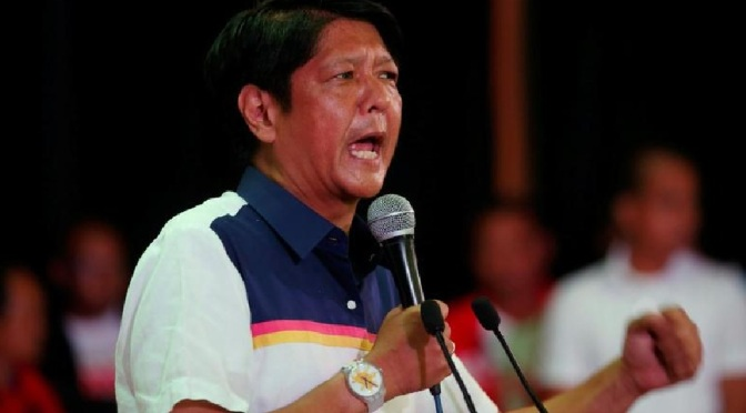 """MARCOS supporters behind """"emergency alert"""" sent out as Bongbong filed COC for president"""